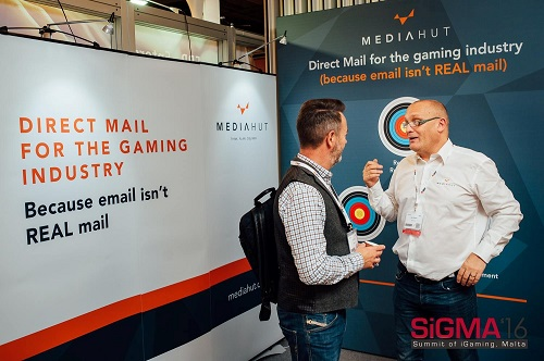 Media Hut exhibiting at Sigma 16 in Malta