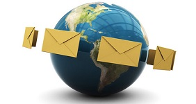 direct mail around the world