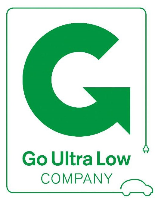 We have been awarded 'Go Ultra Low Company' status